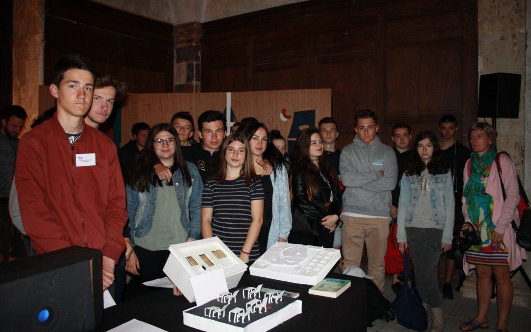 Les 2B à Angers pour -Les lycéens s'exposent-